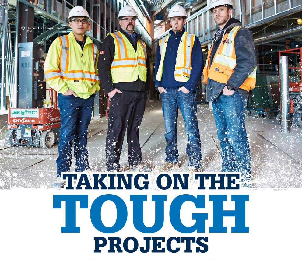 Article Cover - Taking on the Tough Projects