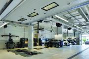 Ground floor mechanic bays
