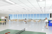 TTC McNicoll Bus Garage Interior view rendering