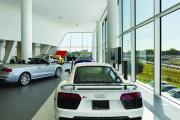 Audi 2nd Floor showroom on highway side